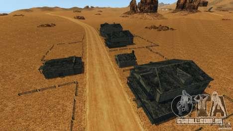 Red Dead Desert 2012 para GTA 4 sétima tela