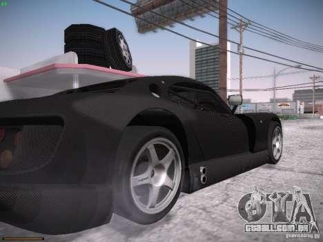 TVR Cerbera Speed 12 para GTA San Andreas vista interior