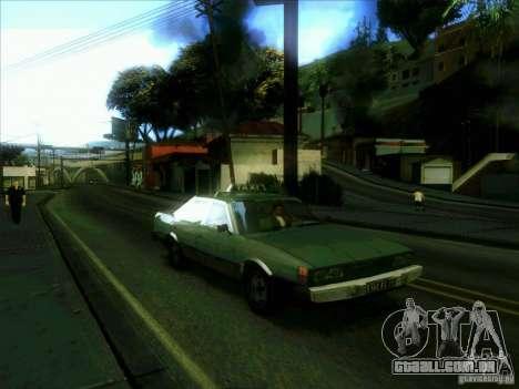 Um táxi do dri3r para GTA San Andreas vista traseira
