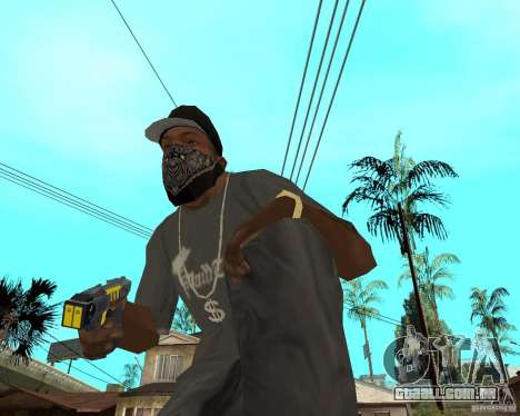 Taser para GTA San Andreas segunda tela