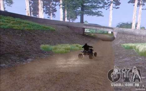 Zona rural HQ para GTA San Andreas quinto tela