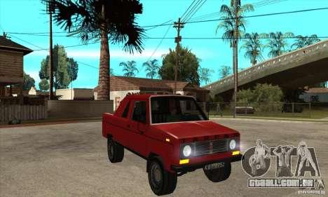 FSR Tarpan 237D (v.1) para GTA San Andreas vista traseira