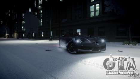 Mercedes Benz McLaren SLR Stirling Moss para GTA 4 esquerda vista