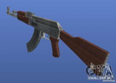 AK47 Retex 1.1 Chrome para GTA 4