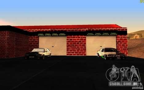 Nova garagem em Dorothy para GTA San Andreas segunda tela