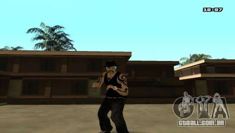 Skin Pack The Rifa para GTA San Andreas segunda tela