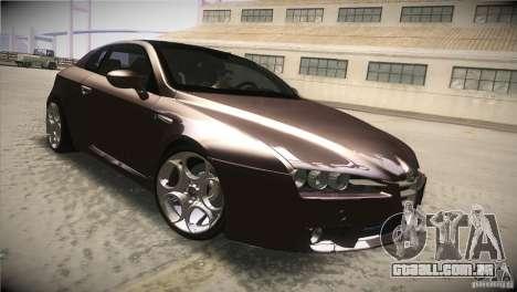 Alfa Romeo Brera Ti para GTA San Andreas vista interior