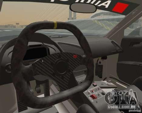 Audi R8 LMS v2.0.1 para GTA San Andreas vista traseira