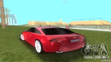 Audi Nuvolari Quattro para GTA Vice City deixou vista