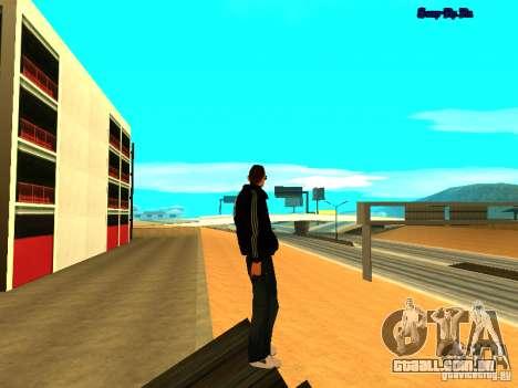 Novo skin para Gta San Andreas para GTA San Andreas quinto tela