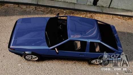 Toyota Sprinter Trueno GT 1985 Apex [EPM] para GTA 4 vista direita
