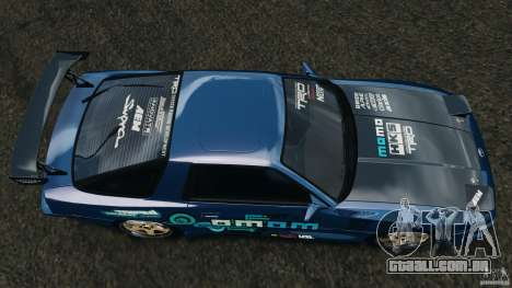 Toyota Supra 3.0 Turbo MK3 1992 v1.0 para GTA 4 vista direita