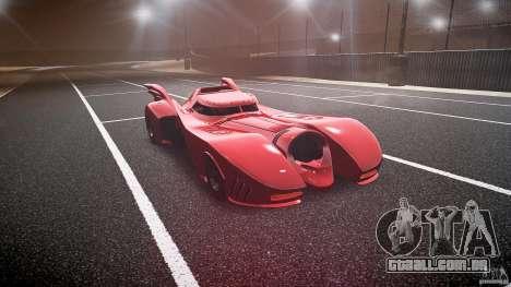 Batmobile Final para GTA 4 vista de volta