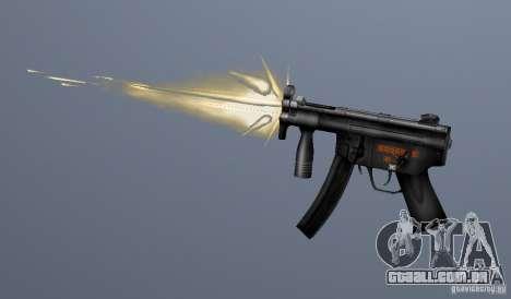 H&K MP5K para GTA San Andreas terceira tela