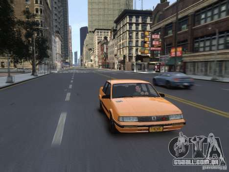 Oldsmobile Cutlass Ciera 1993 para GTA 4 vista lateral