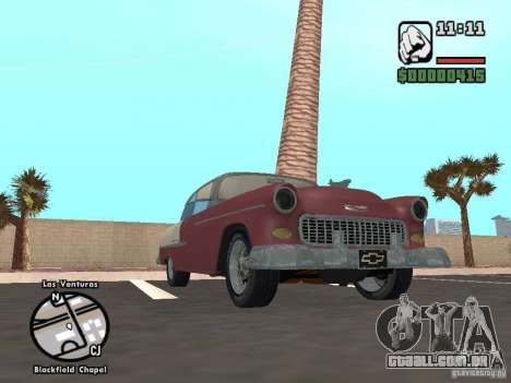 1955 Chevy Belair Sports Coupe para GTA San Andreas