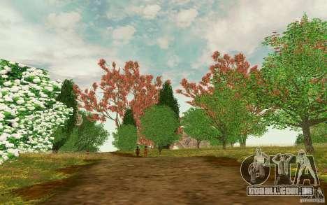 Project Oblivion 2010 Sunny Summer para GTA San Andreas terceira tela