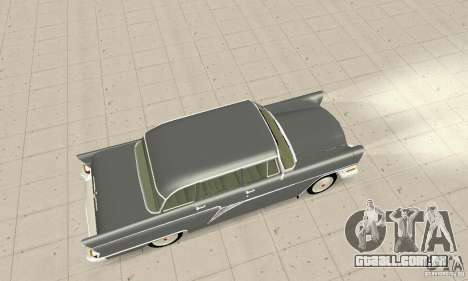GAZ 13 Chaika v 2.0 para GTA San Andreas vista interior