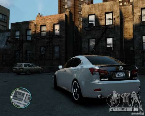 Lexus IS350 2006 v.1.0 para GTA 4 esquerda vista