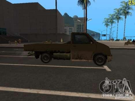Moonbeam Pickup para GTA San Andreas vista direita