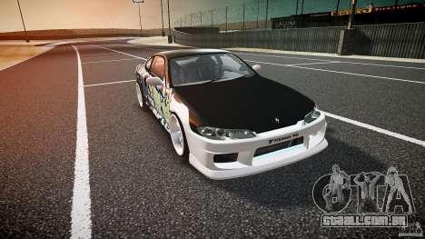 Nissan Silvia S15 Drift v1.1 para GTA 4 vista interior