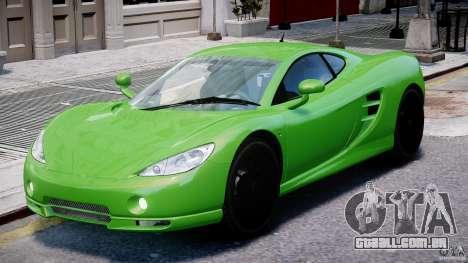 Ascari KZ-1 para GTA 4 esquerda vista