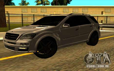Mercedes-Benz ML63 AMG W165 Brabus para GTA San Andreas