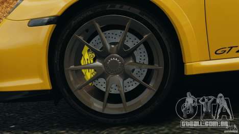 Porsche 911 GT2 RS 2012 v1.0 para GTA 4 vista superior