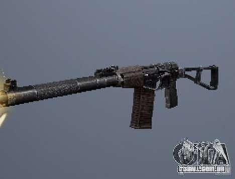 Um conjunto de armas do perseguidor V2 para GTA San Andreas por diante tela