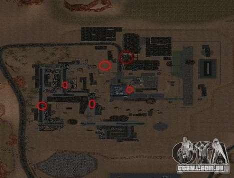 Chernobyl MOD v1 para GTA San Andreas segunda tela