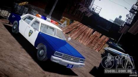 Chevrolet Impala Police 1983 para GTA 4