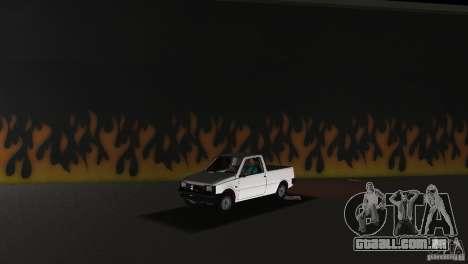 Seaz Pickup para GTA Vice City vista traseira esquerda
