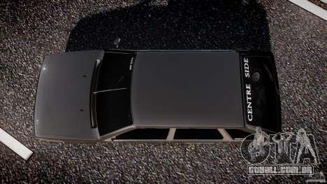 Lada VAZ 2109 para GTA 4 vista superior