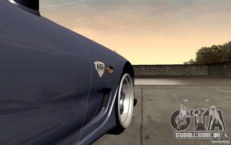 Mazda RX-7 Hellalush para GTA San Andreas vista interior