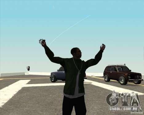 Animação diferente para GTA San Andreas terceira tela