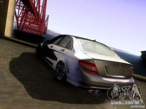 Mercedes-Benz C36 AMG para GTA San Andreas esquerda vista