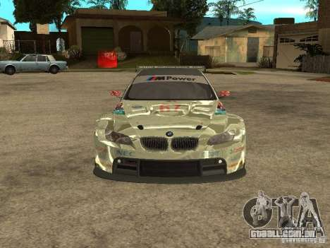 BMW M3 GT2 para GTA San Andreas vista interior