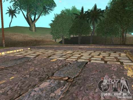 Novas estradas em Vajnvude para GTA San Andreas sexta tela