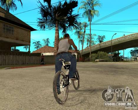 Diamondback strike Beta para GTA San Andreas traseira esquerda vista