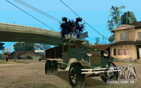GAZ-AA para GTA San Andreas