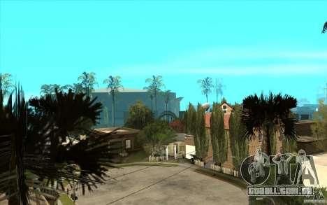 New Grove Street TADO edition para GTA San Andreas quinto tela
