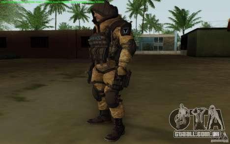 Warface sniper para GTA San Andreas segunda tela