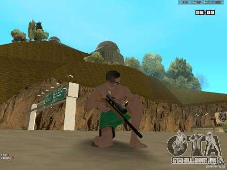 Weapon Pack V1.0 para GTA San Andreas terceira tela