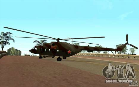 MI-17 militares para GTA San Andreas