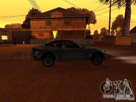 Maserati Granturismo S para GTA San Andreas esquerda vista