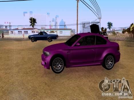 BMW 1M  2011 para GTA San Andreas vista direita