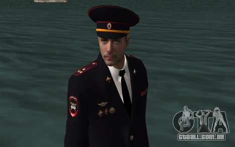 O oficial do Ministério do INTERIOR para GTA San Andreas por diante tela