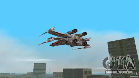 X-Wing Skimmer para GTA Vice City deixou vista