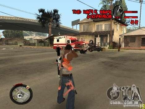 Hud by Dam1k para GTA San Andreas segunda tela