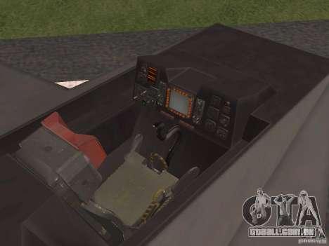 F302 para GTA San Andreas vista interior